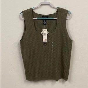 Jones New York signature 2X NWT sleeveless sweater
